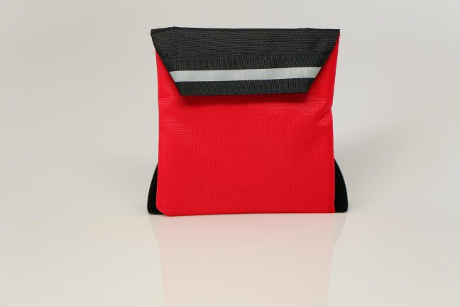 Go Pak Junior Red Black Reflective Rear View
